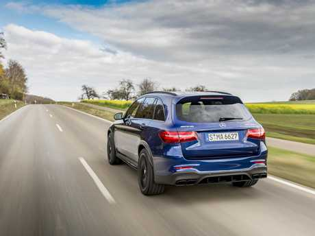 The Mercedes-Benz AMG GLC 63 S will arrive in Australia next year.