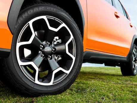 The 2012 Subaru Impreza XV 2.0i compact SUV wagon.