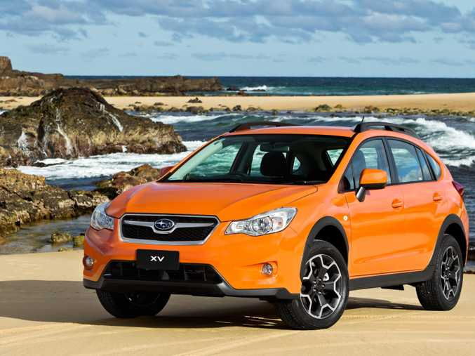 The 2012 model Subaru Impreza XV 2.0i compact SUV wagon.