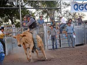 Rodeo action explodes