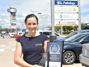Star on the rise: Driven dietician receives second award
