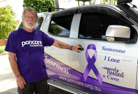 Kerry Parkes lost his wife, Jenny, to pancreatic cancer recently and is raising awareness of the disease.