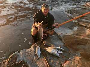 Enjoy rock fishing but be careful
