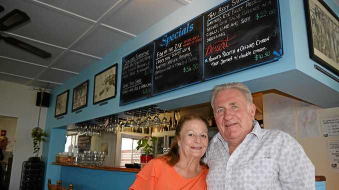 Julie and Ziggy Fiegl have sold iconic Noosaville restaurant Maisie's after 20 years.