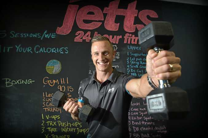SMASHING GOALS: Josh Every of Jetts Maroochydore has won Australia's Personal Trainer of the Year Award at the Jetts Annual Conference.