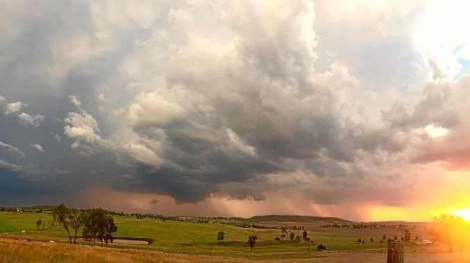 DARK SKIES: Rachel Eiser captures storms rolling into the region for #SnapToowoomba.