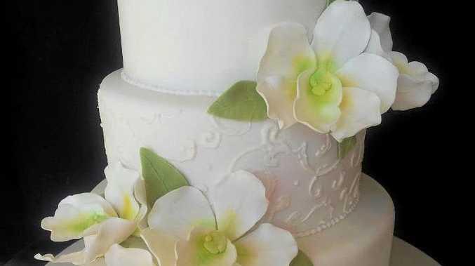 STUNNING: One of Karen's cakes.