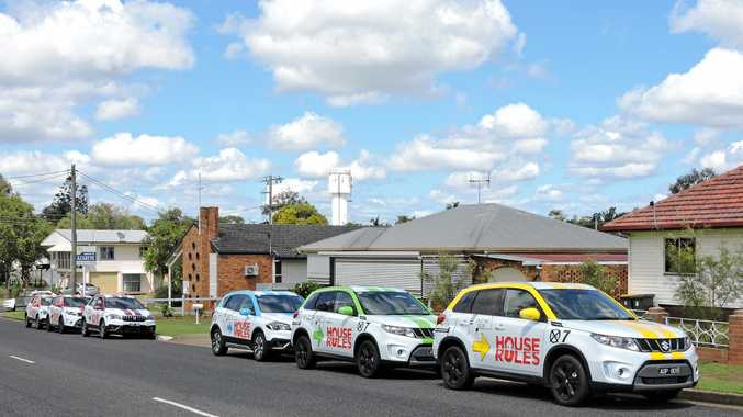 Reality TV show House Rules has moved into a Neptune St home in Maryborough where teams will renovate a room each until the house is completely transformed, as part of a competition for a huge cash prize.