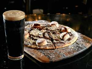 New smores pizza at Pumpyard