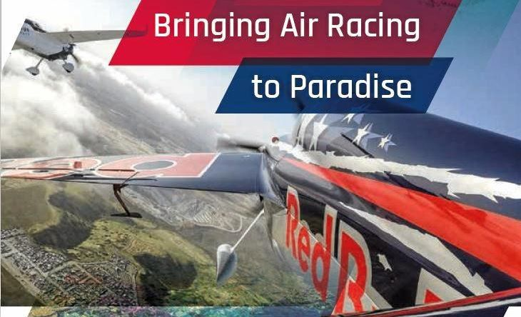 Greater Whitsunday Alliance is after State Government support to lure Red Bull Air Racing to Airlie Beach.