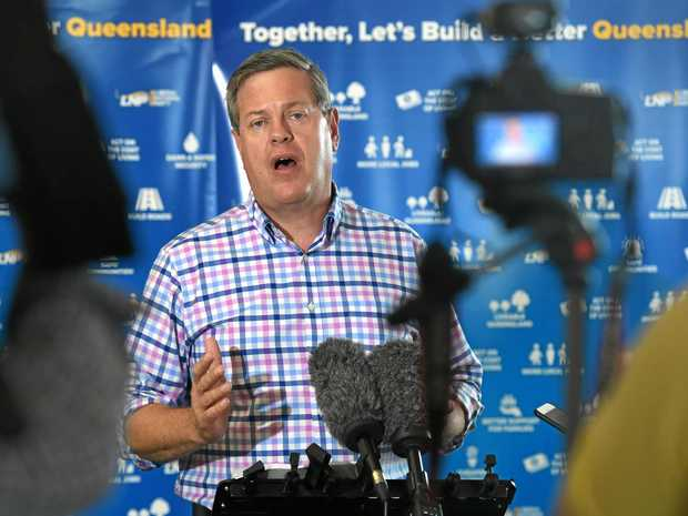 Queensland Leader of the Opposition Tim Nicholls.
