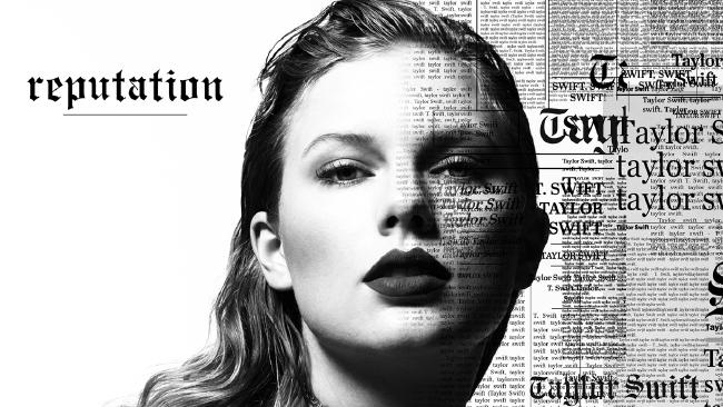 Taylor Swift's new album cover.