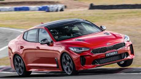 Kia has branched out into performance cars with the Stinger.