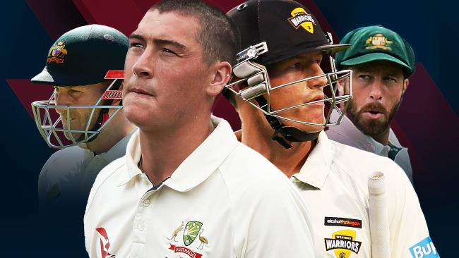 Peter Nevill, Matt Renshaw, Cameron Bancroft and Matthew Wade are all in contention for selection.