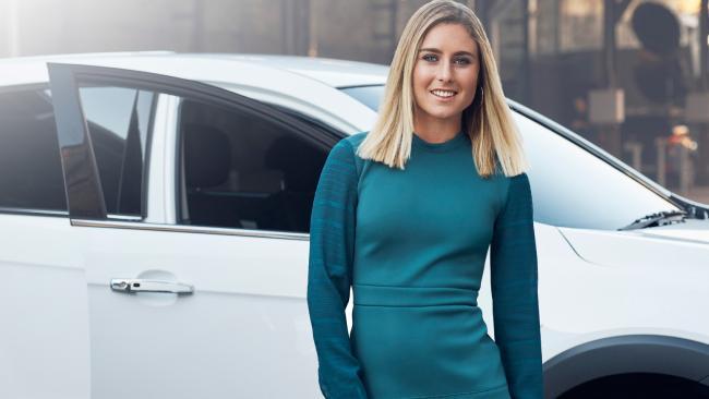 Nikki van Dijk is a Holden ambassador.