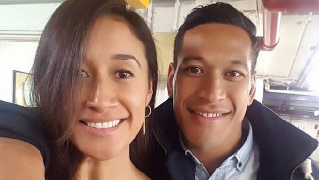 Maria Tutaia and Israel Folau got married yesterday.