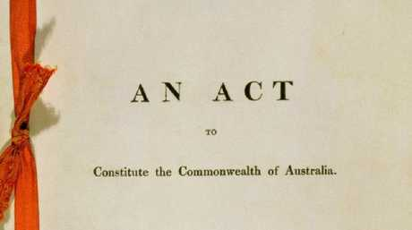 What is causing the problems: the Constitution of the Commonwealth of Australia.
