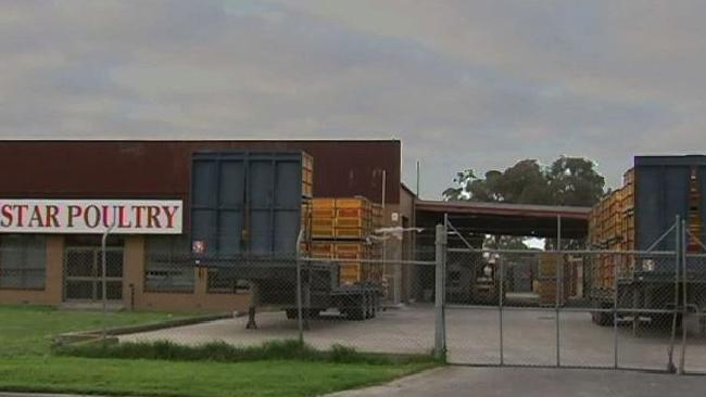 Star Poultry in the Melbourne suburb of Keysborough.