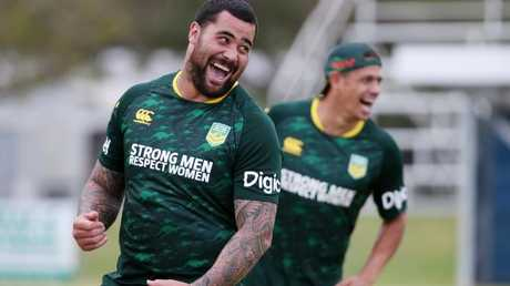 Meninga won't close the door on Fifita. Photo: Stewart McLean