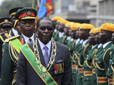 Notorious Zimbabwean leader Robert Mugabe.