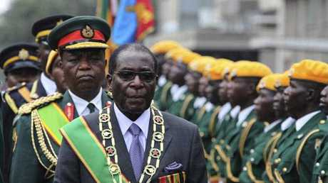 Notorious Zimbabwean leader Robert Mugabe.