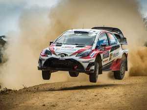 Rally Australia shakedown