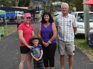 Natalia, Connor, 4, Val and Laurie Johntson at the