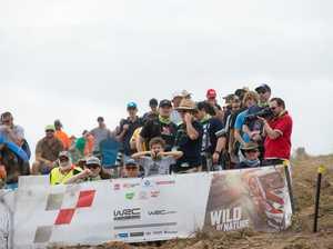 Rally Australia spectators