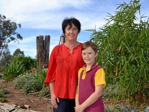 LOCAL WARRIOR: Chinchilla woman Lyn Watts and son Cooper Zerk are looking forward to being part of the  Channel Nine Telethon .