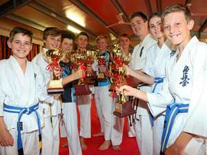 Cannonvale karate kids excel at kata