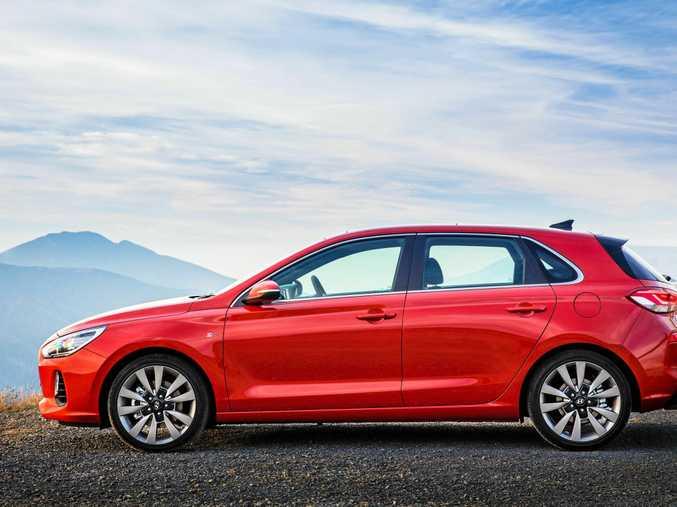 The Hyundai i30 SR Premium.