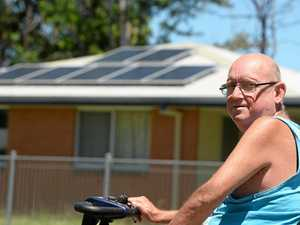 Rocky man can't afford to live, but the housos get solar?