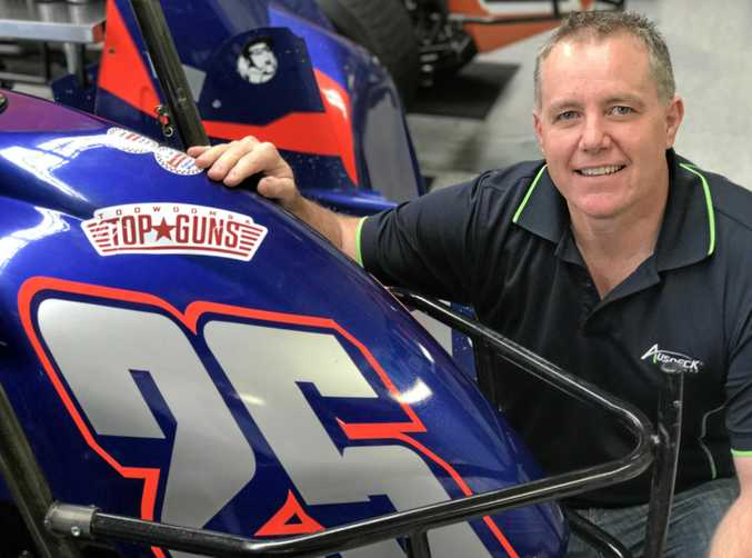 Toowoomba's Andrew Scheuerle will be chasing victory in tomorrow night's Will Power 500 at Toowoomba Speedway.