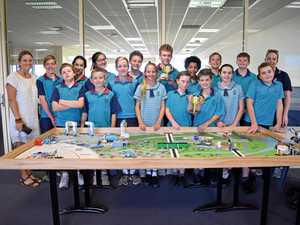Competing for the Lego League national title