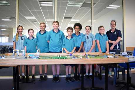 Emmanuel Anglican College's junior team won the Gracious Professionalism Award at the Brisbane First Lego League last weekend.