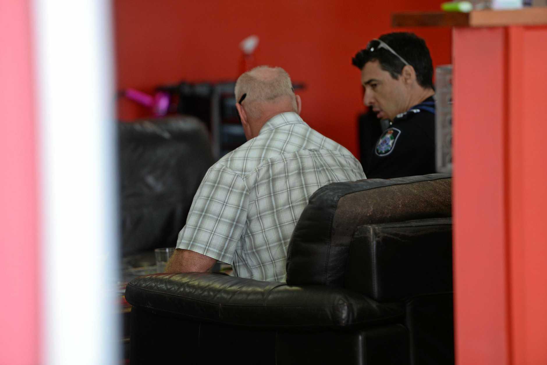 Blind Bundbaerg man Graeme Raines was assaulted on Wongarra St.
