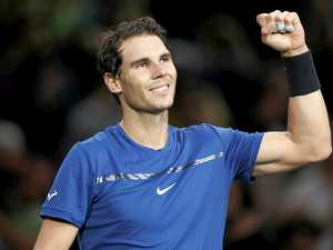 Nadal has win in new court