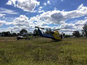 LifeFlight rescues man after farming accident