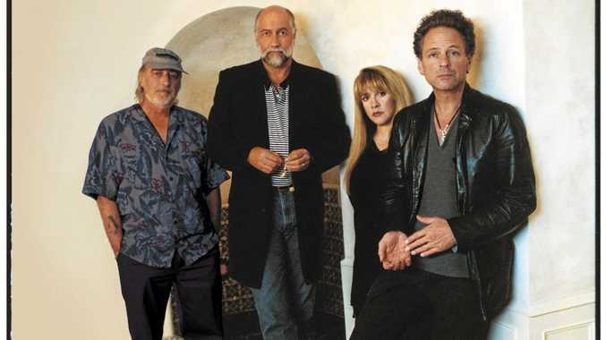 Fleetwood Mac's Mick Fleetwood, Stevie Nicks, Lindsay Buckingham. The band will release never-before-heard recordings from their hit, self-titled album.