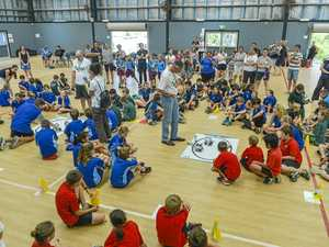 Clinton State School robotics competition
