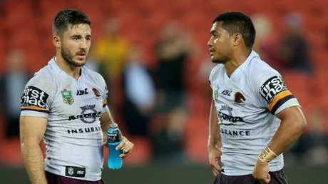 Fans may have to wait to watch former teammates (L-R) Ben Hunt and Anthony Milford go head-to-head.