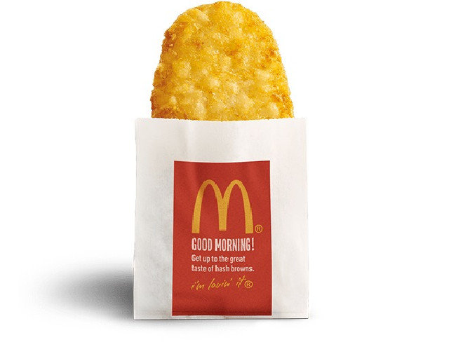 McDonald's has recently increased the price of its hash browns.