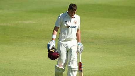 Matthew Renshaw has been axed from Australia's Test XI.