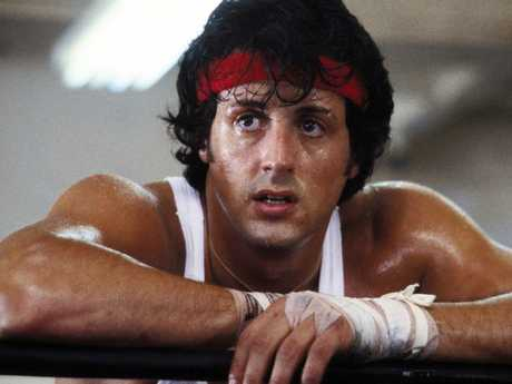 Sylvester Stallone became a global superstar thanks to the Rocky franchise. Picture: Supplied