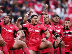 Tonga not intimidated by maiden finals series