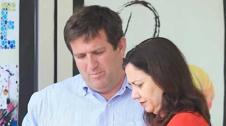 Kirby Anderson (pictured with Premier Annastacia Palaszczuk)
