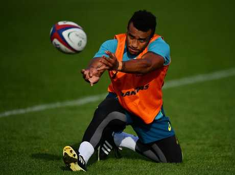 Will Genia can expect to be targeted by England's forwards.