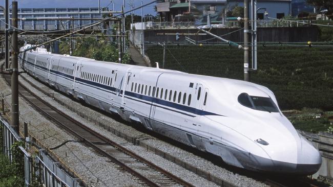 A Japanese railway company has apologised for a train departing 20 seconds early. Picture: Central Japan Railway Company.