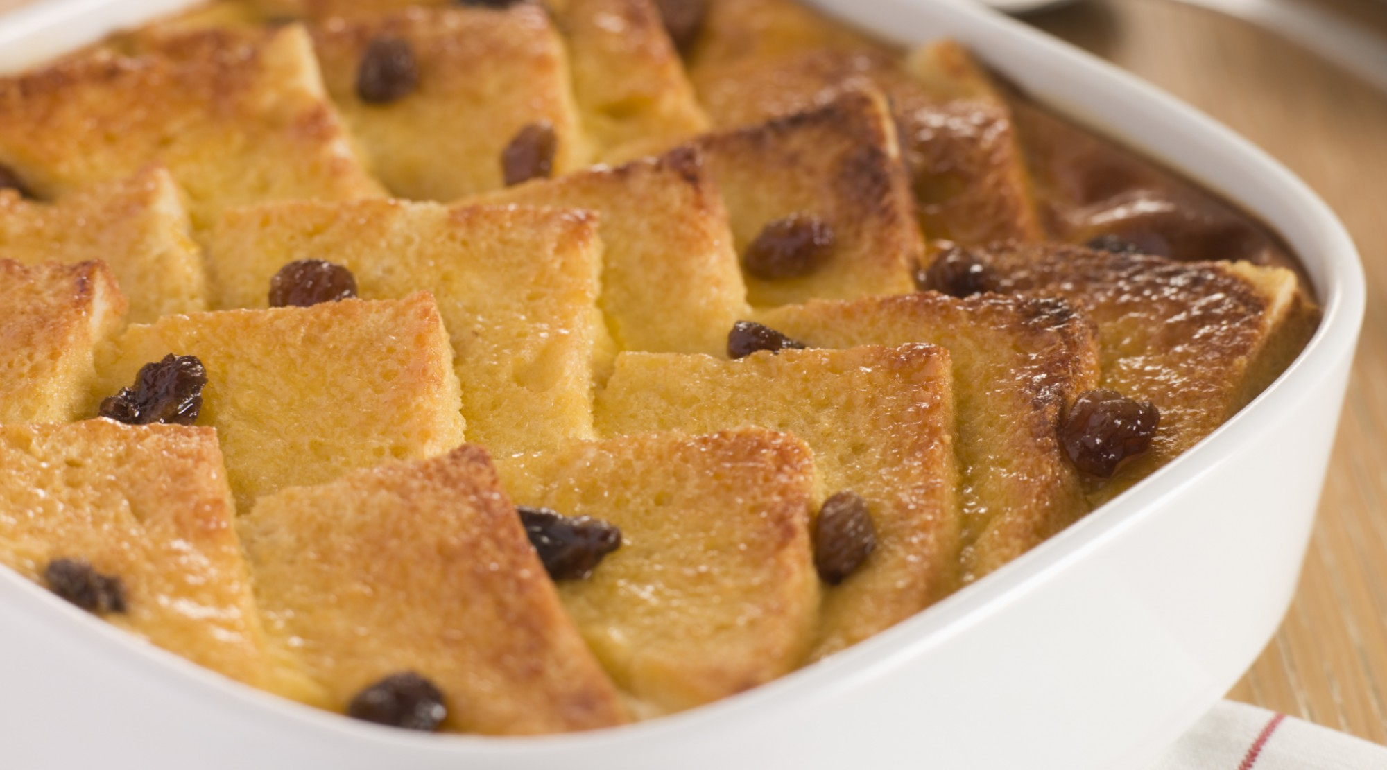 Bread and butter pudding: A particular favourite among our readers.