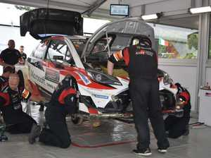 Rally Australia - Service Park